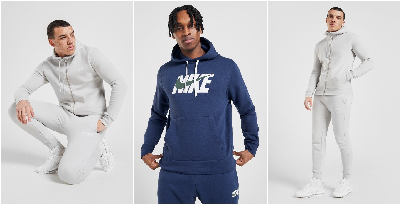 REA, kläder, herr, herrkläder, McKenzie, Nike, höst, hoodie, träningsoverall, mode, JD Sports