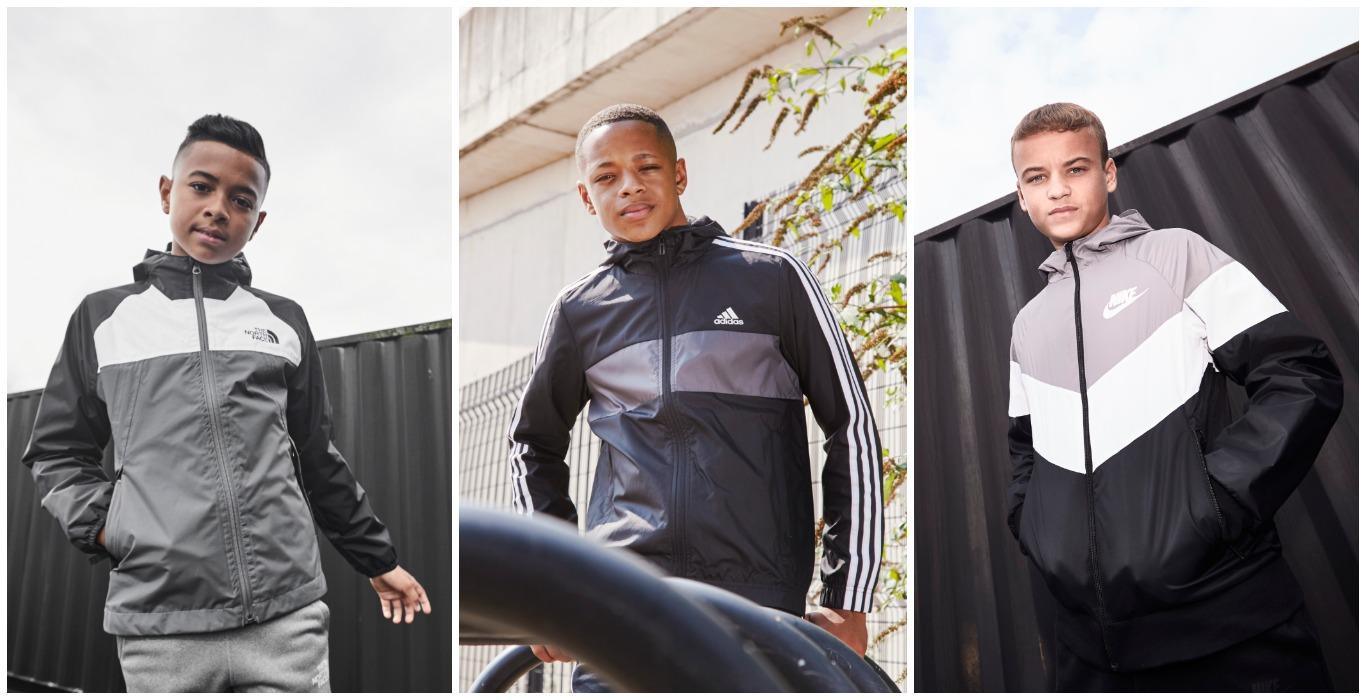 The North Face, Nike, adidas, adidas Originals, barnjackor, jacka, jackor