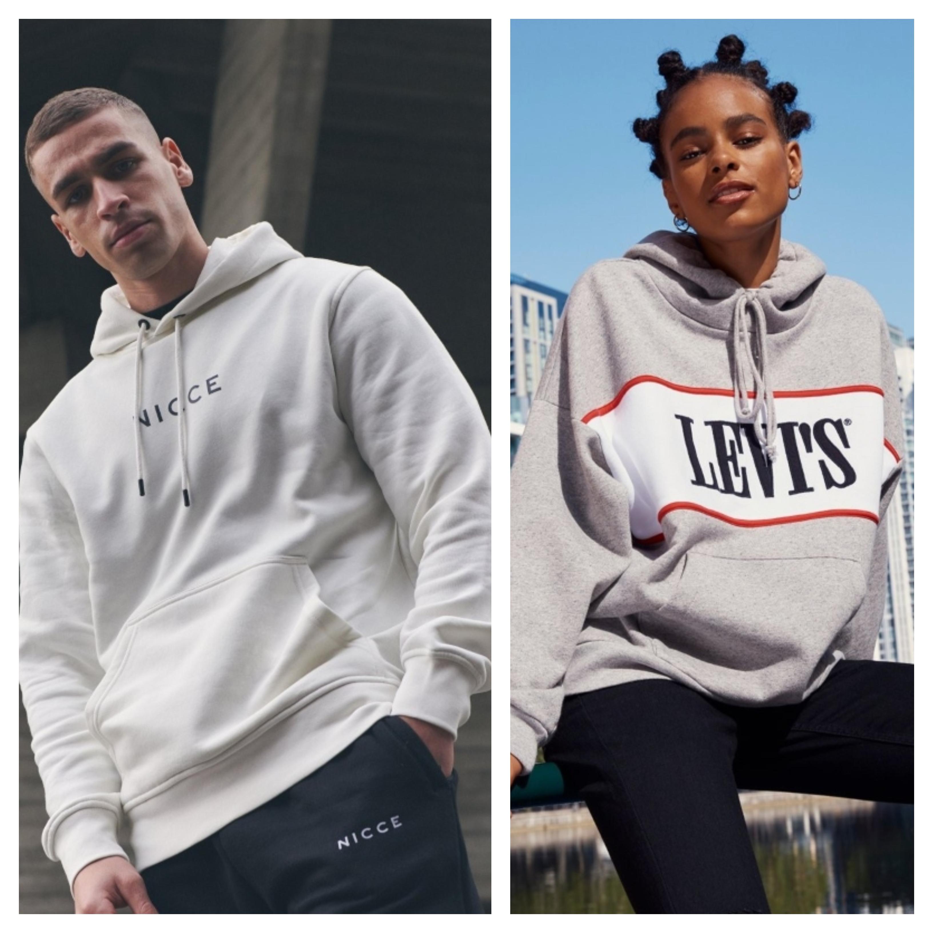 Nicce, Levi's, hoodie, årets mest använda