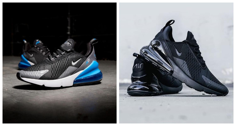 Nike Air Max 270, Air Max, Svarta sneakers