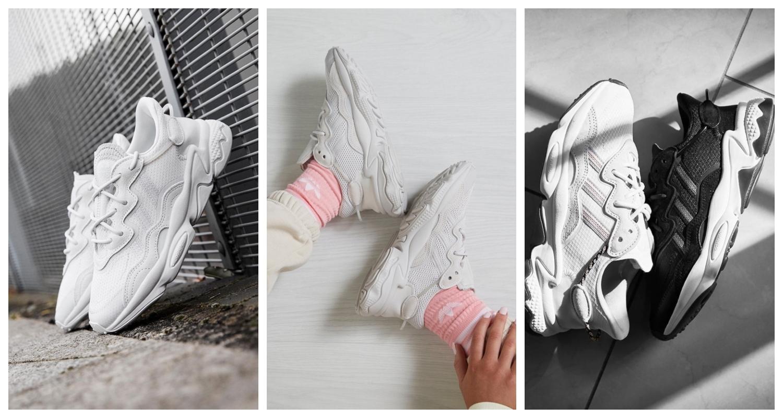 adidas Originals Ozweego, adidas Ozweego, Ozweego, Vita sneakers, Grå sneakers, Svarta sneakers