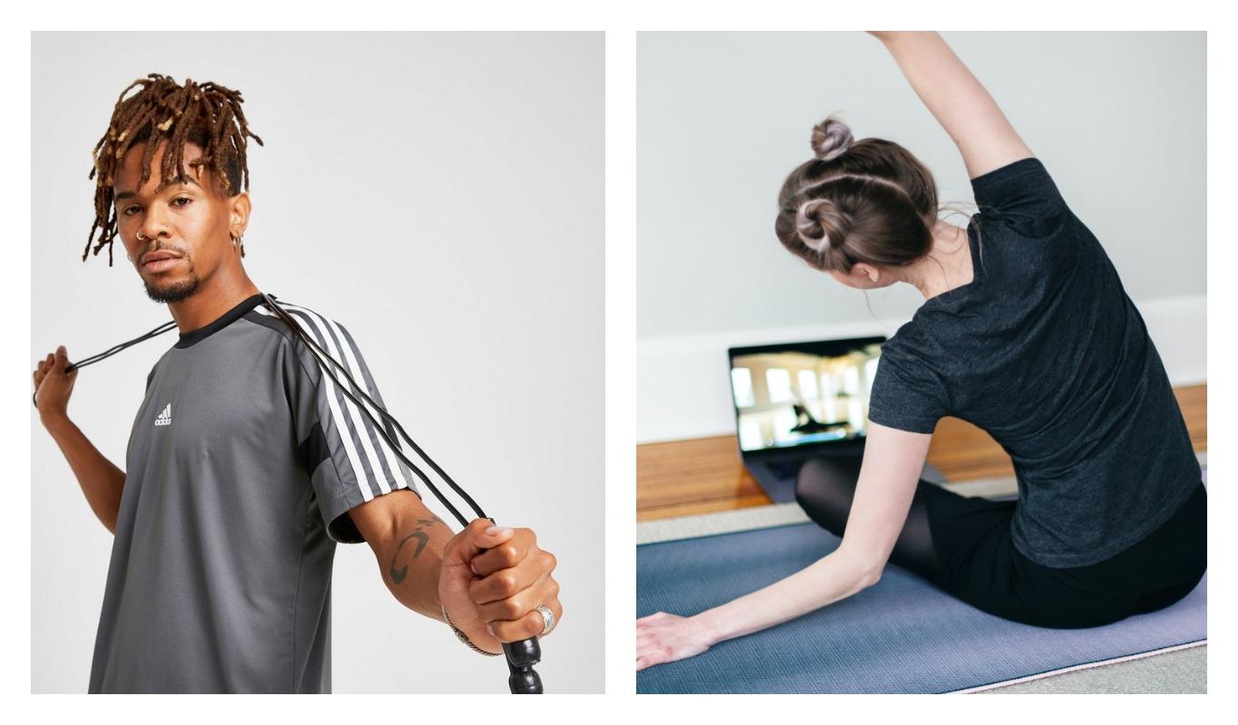Hemmaträning, onlineträning, fria vikter, träning, träningstrend