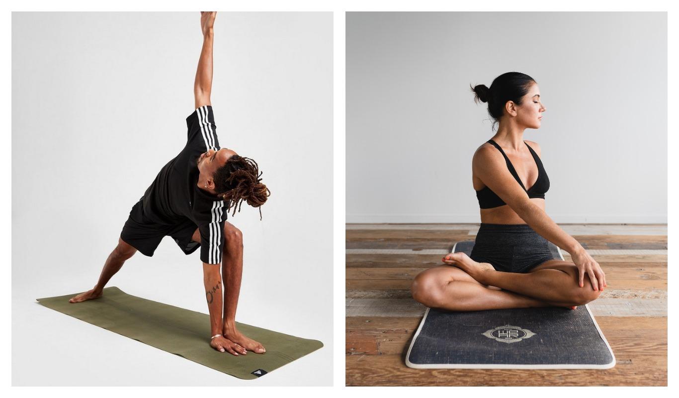 Yoga, mental hälsa, yogamatta, träningstrend, träning