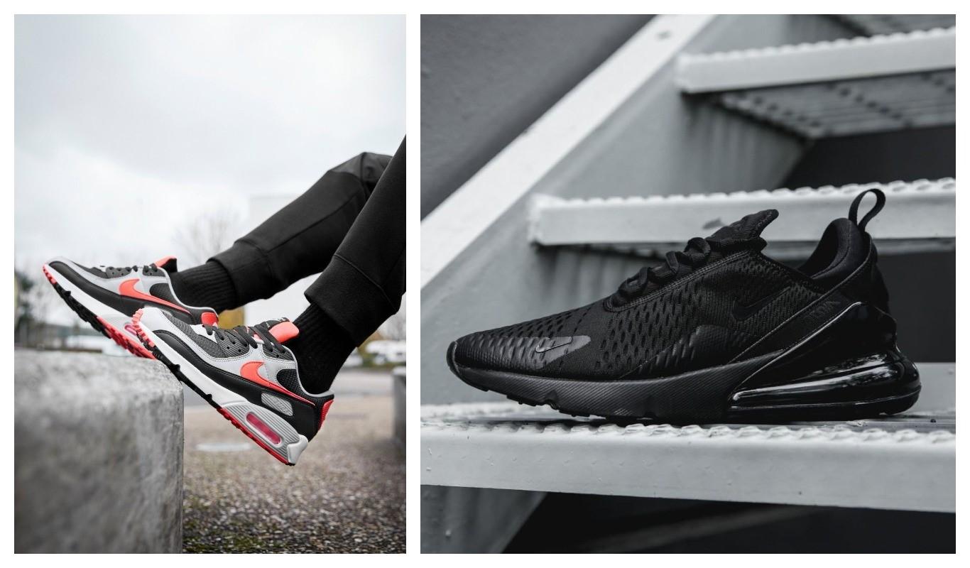 Nike Air Max 90, NIke Air Max 270, sneakers
