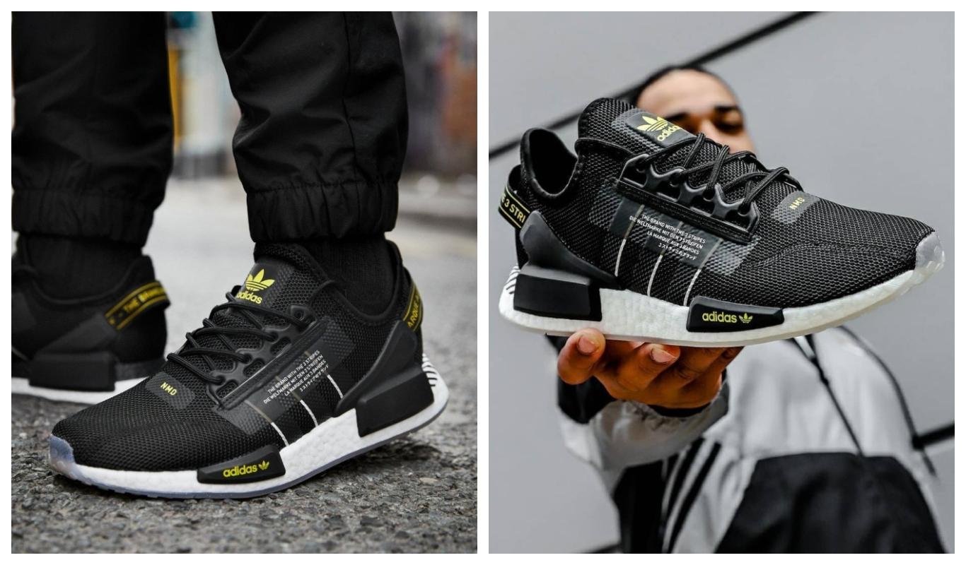 Sneakers för sommaren, svarta adidas Originals NMD