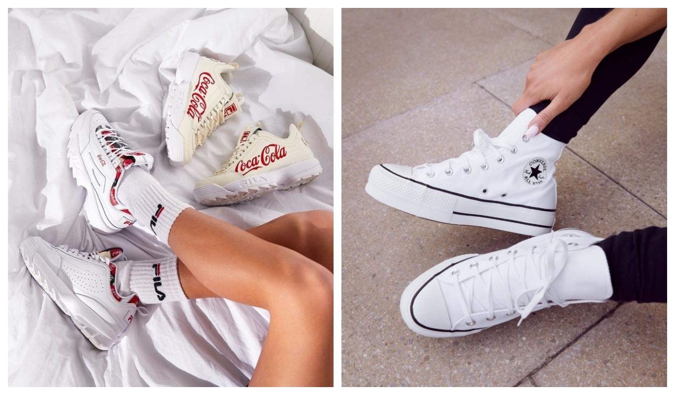 Fila Disruptor, Converse All Star Hi Lift Platform, Vita sneakers